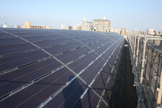 熊本県の有機薄膜太陽電池