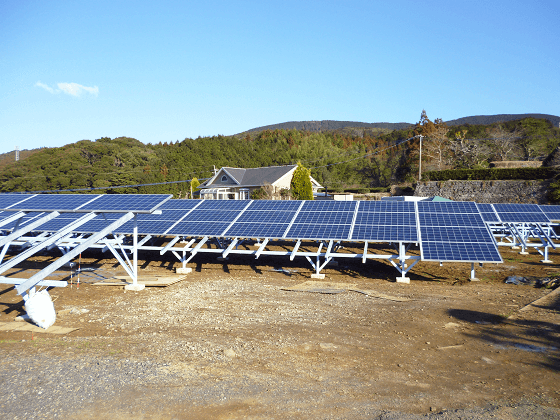 野立て 産業用太陽光発電設置 太陽光パネル設置
