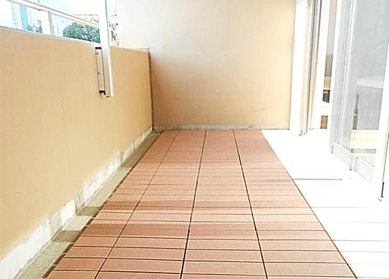アパガーデンコート綾瀬の中古マンション フルリノベーションの外観