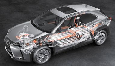 トヨタ・レクサスUX300eの動力性能紹介
