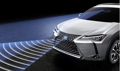 トヨタ・レクサスUX300eの先進安全運転支援技術紹介