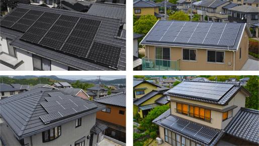 屋根の設置事例