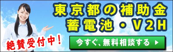 東京都の家庭用蓄電池の補助金