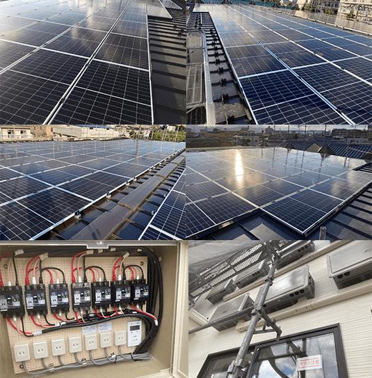 自家消費型太陽光発電の老人ホームの設置事例