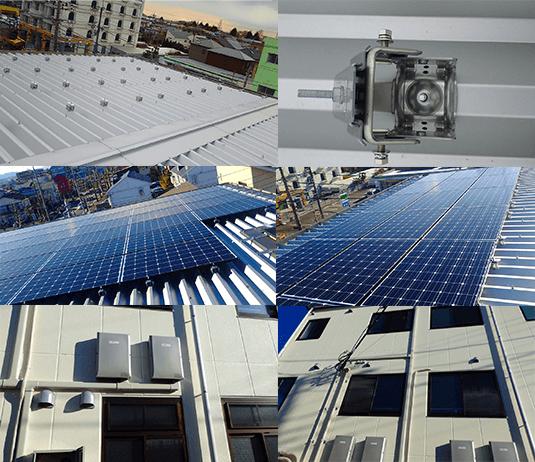 自家消費型太陽光発電の小規模ストアの設置事例3
