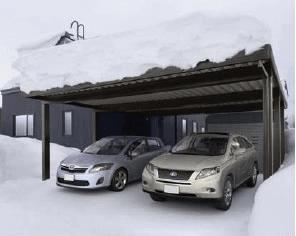 ソーラーカーポート積雪