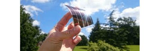ペロブスカイト型の太陽電池