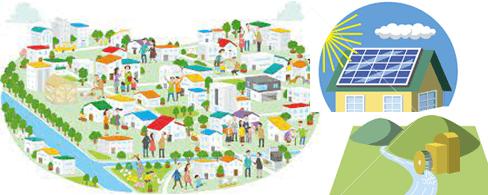 地域密着の再生可能エネルギー