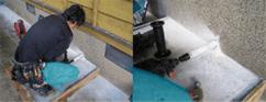 エコキュートの配管設置