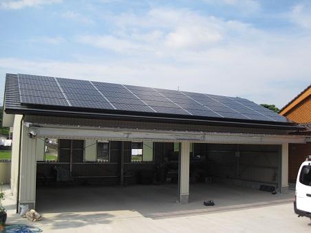 パナソニックHIT233を佐賀県に設置した事例