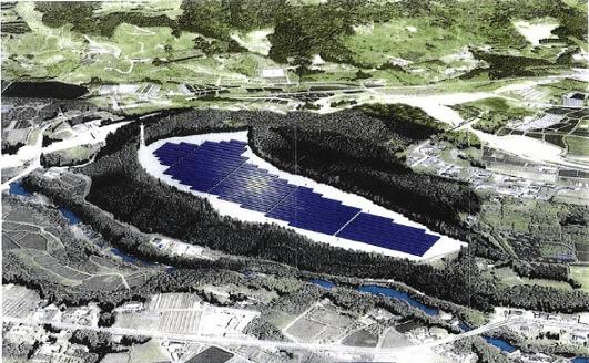 宮崎県のメガソーラー