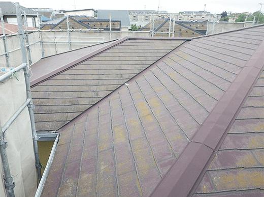 築13年の屋根の状態