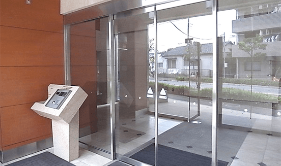 アパガーデンコート綾瀬の中古マンション フルリノベーションのセキュリティ