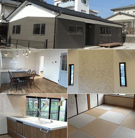 綾瀬駅の中古マンションのリノベーション事例