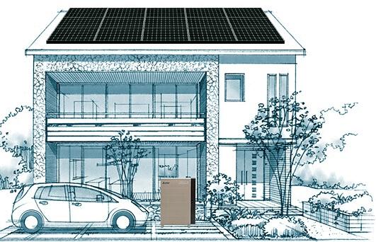 電気自動車には太陽光発電システムがお得