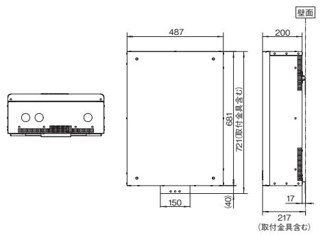 アイビス エネテラス蓄電池は軽量なので壁掛けできる!