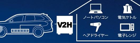 V2Hのメリット